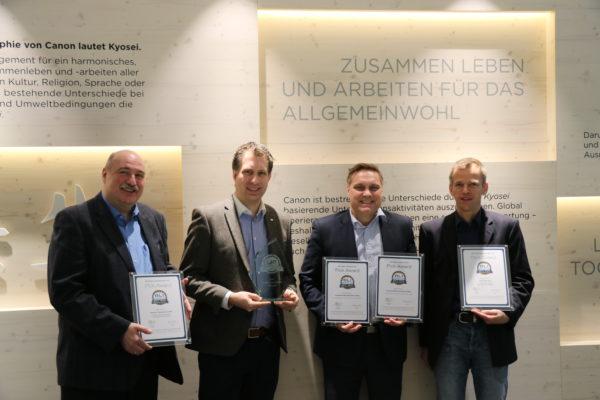 Canon imageRUNNER ADVANCE Serie holt die höchste BLI Auszeichnung