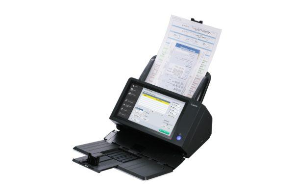 Scanner Canon mit integriertem Monitor