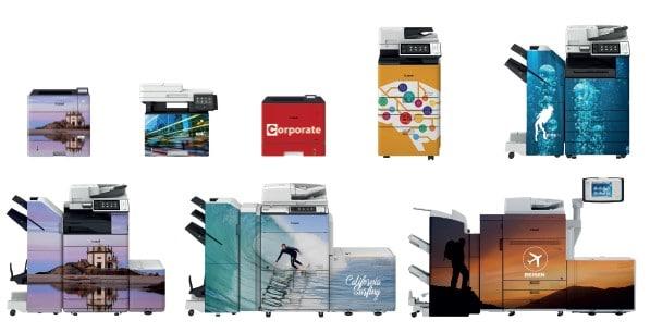 imageSKIN individuelle Kopierern Drucker Layouts und Designs